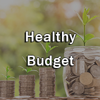 Healthy Budget Button