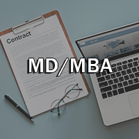 MD MBA Button