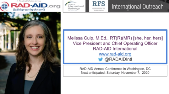 Webinar - International Electives for IR Training Pathways - Melissa Culp Youtube Cover Image