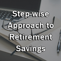 approach to retirement savings button