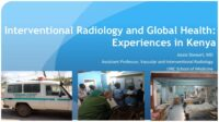 Interventional Radiology and Global Health: Experiences in Keny