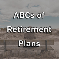 retirement plans button